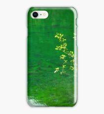 Green Lake and Tree iPhone Case/Skin