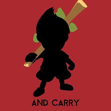 Speak Softly and Carry a Big Stick by fuzzynegi