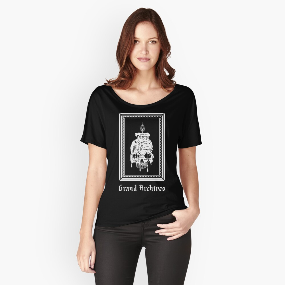 Grand Archives Scholar Women's Relaxed Fit T-Shirt Front