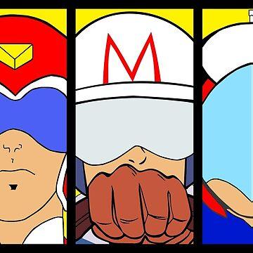 Go, Science Ninja Voltron Force Team, Go!!! by atomicthumbs78
