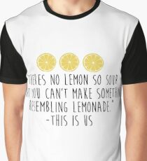 This is Us - Lemonade Graphic T-Shirt