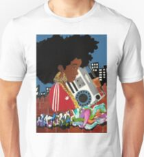 Old School Afro Unisex T-Shirt
