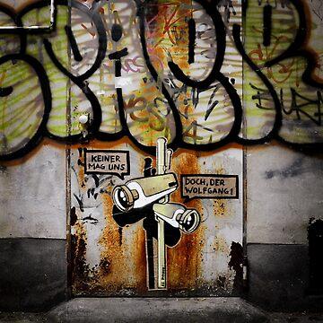 Graffiti in Berlin by Kilbracken