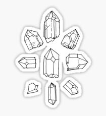 crystal collection Sticker