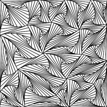 Geometric Doodle by harringe