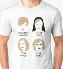 The faces of Jessica Lange Unisex T-Shirt