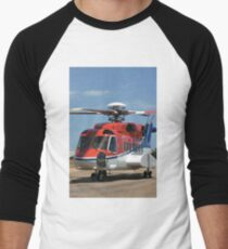 Helicopter Sikorsky S91 taxiing #1 T-Shirt
