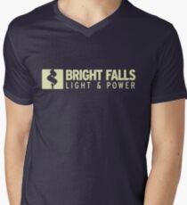 Bright Falls Light & Power Men's V-Neck T-Shirt