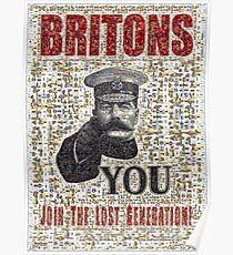 Join the Lost Generation Poster
