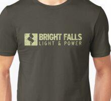 Bright Falls Light & Power (Grunge) Unisex T-Shirt