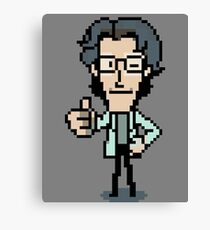 Otacon Thumbs-Up Canvas Print