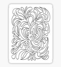 Sploosh Sticker