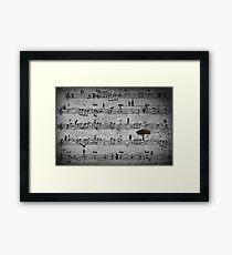 The Music of Life Framed Print