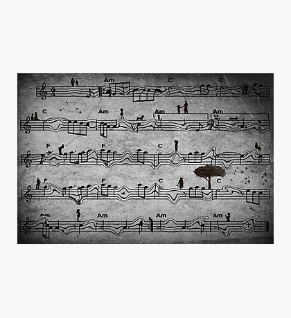 The Music of Life Photographic Print