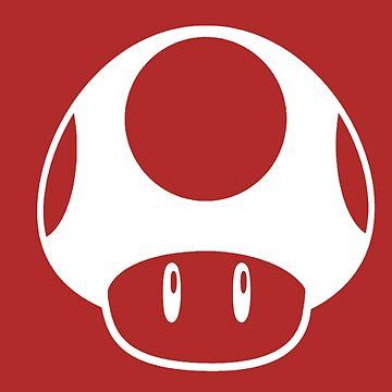 Super mario mushroom by linarty