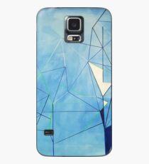 Blaues Prisma Hülle & Klebefolie für Samsung Galaxy