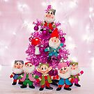 Merry Christmas from the Seven Dwarves by Zoe Power