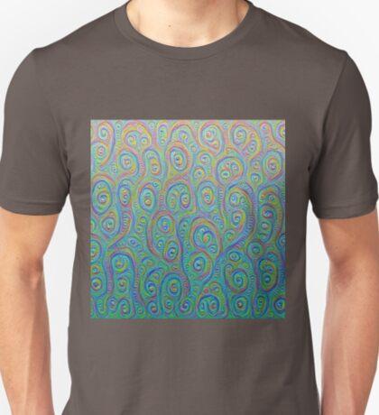 Underwater flowers #DeepDream #Art T-Shirt