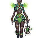 Voodoo Priestess by BitGem