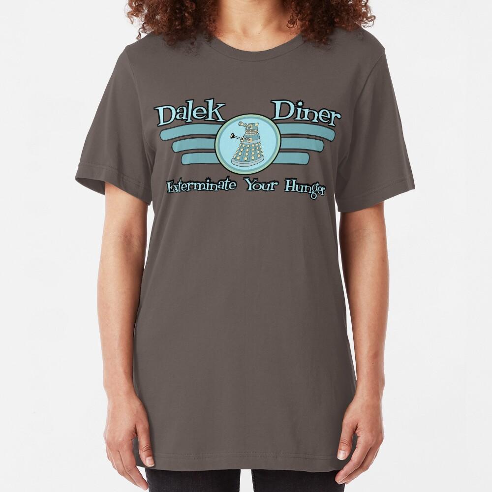 Dalek Diner 2 Slim Fit T-Shirt