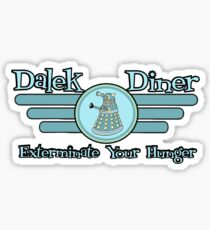 Dalek Diner 2 Sticker