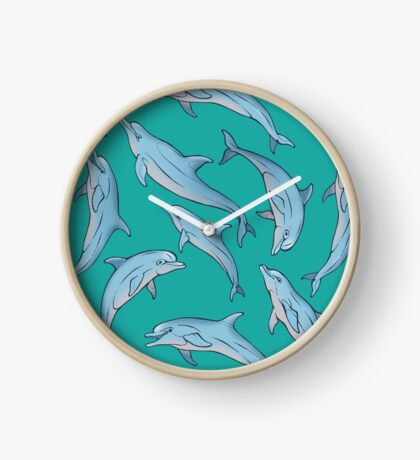 A story about dolphins 3 Horloge