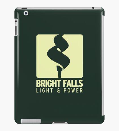 Bright Falls Light & Power (Alt.) iPad Case/Skin