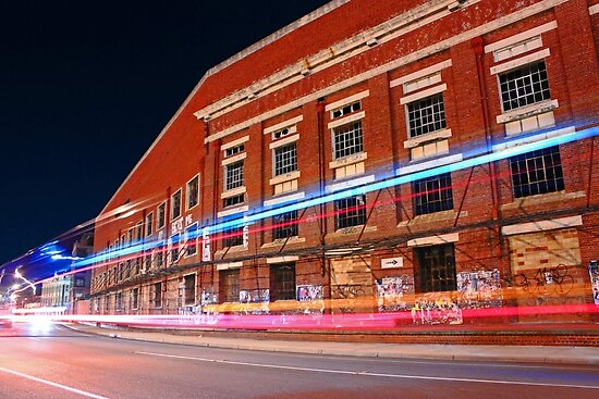 Old Fremantle Woolstores Building  by EOS20