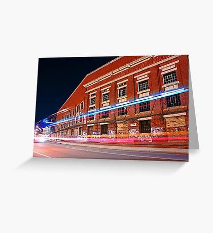 Old Fremantle Woolstores Building  Greeting Card