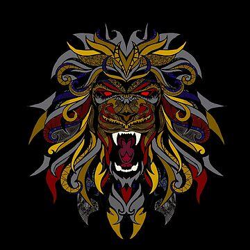 The Lion by Saucydarkmatter