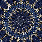 Navy blue and gold by ikshvaku