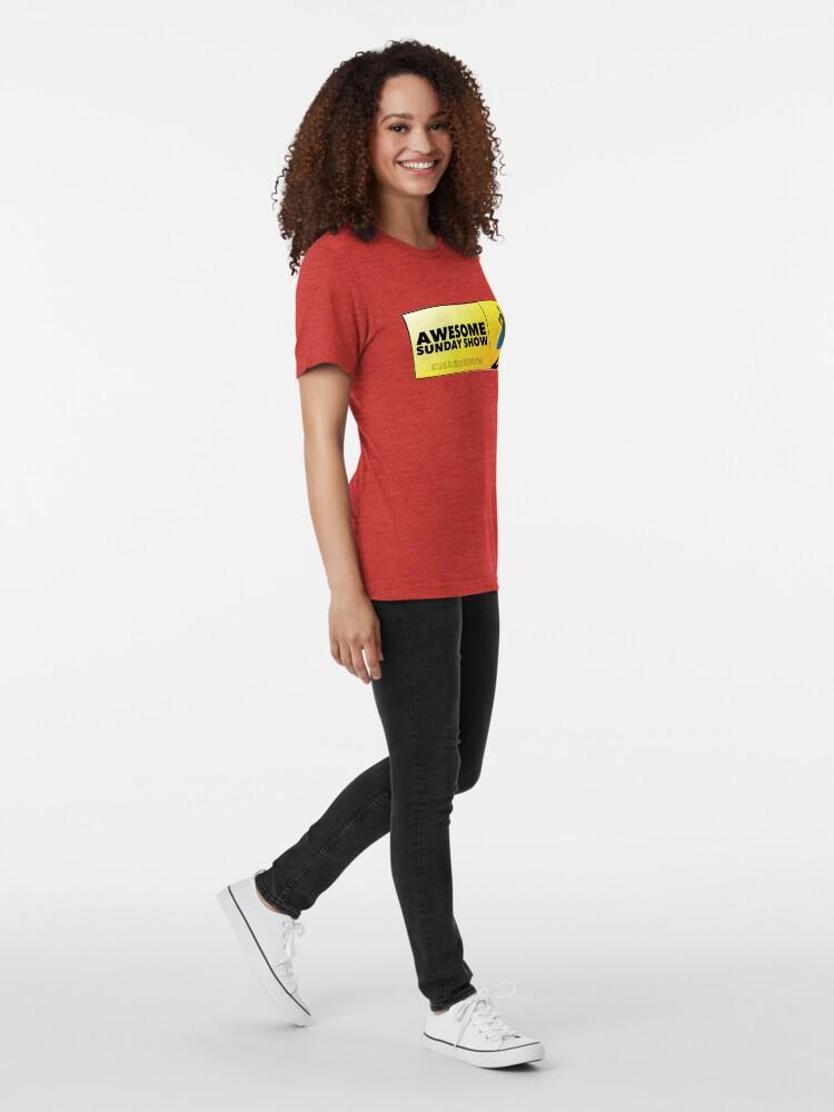 Alternate view of Podcast logo Tri-blend T-Shirt