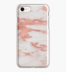 Dolcedo  - rose gold marble iPhone Case/Skin