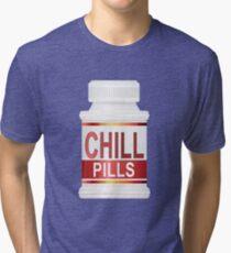 Chill pills. Tri-blend T-Shirt