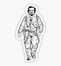 Edgar Allen Poe Dameron Sticker
