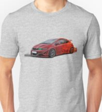 Honda Civic Type R Artrace body-kit in flame. T-Shirt