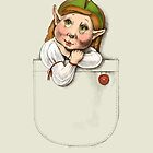 Cute pocket elf girl by elinakious