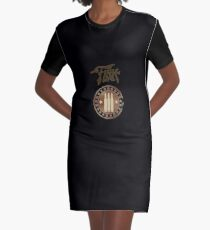 Fink Manufacturing Graphic T-Shirt Dress