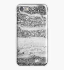 Marble - Silver White Marble Swirls Design iPhone Case/Skin