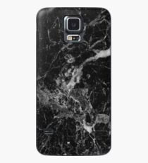 Black and White Marble Pattern Case/Skin for Samsung Galaxy