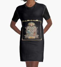 Clock in Now Graphic T-Shirt Dress