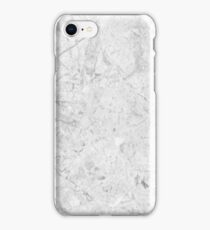Gray Marble Crackle iPhone Case/Skin