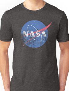 Distressed Nasa Logo Unisex T-Shirt