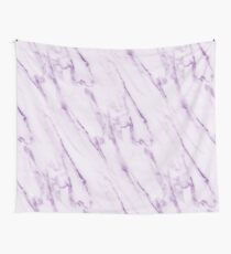 Purple Marble Pattern Wall Tapestry