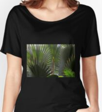 Frolicking Fronds Women's Relaxed Fit T-Shirt