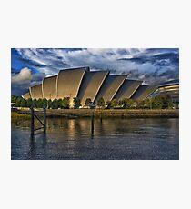 The Armadillo, Glasgow SECC Photographic Print