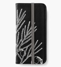Britton And Brown Illustrated flora of the northern states and Canada 0876 Juniperus horizontalis iPhone Wallet/Case/Skin