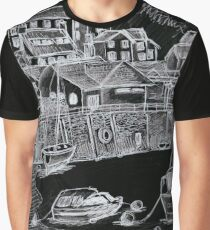 Barmouth harbour Graphic T-Shirt