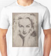 Carole Lombard, Vintage Hollywood Actress Unisex T-Shirt