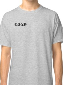 XOXO Kisses and Hugs stickers Classic T-Shirt